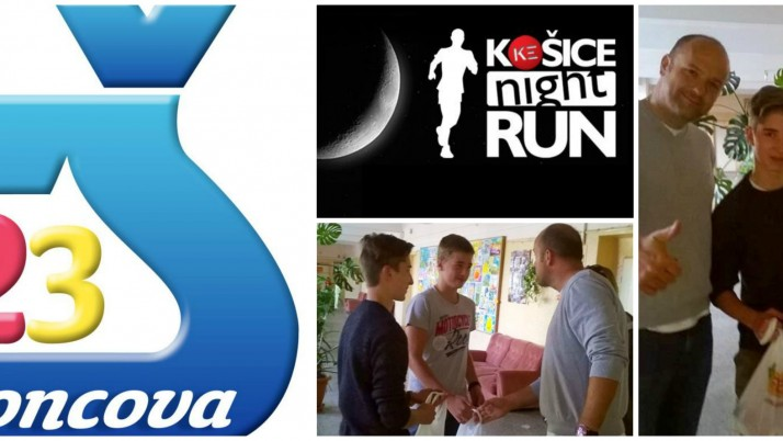 Hroncova na Night run-e