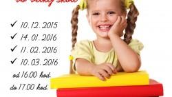 Malý predškolák vo veľkej škole – 4. stretnutie