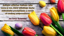 Pripomíname si Deň učiteľov