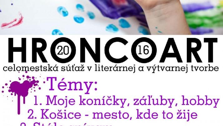 HroncoArt – propozície