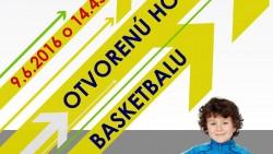 Otvorená hodina basketbalu – pozvánka