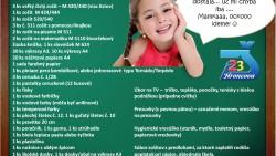 Zoznam školských potrieb 2016/2017