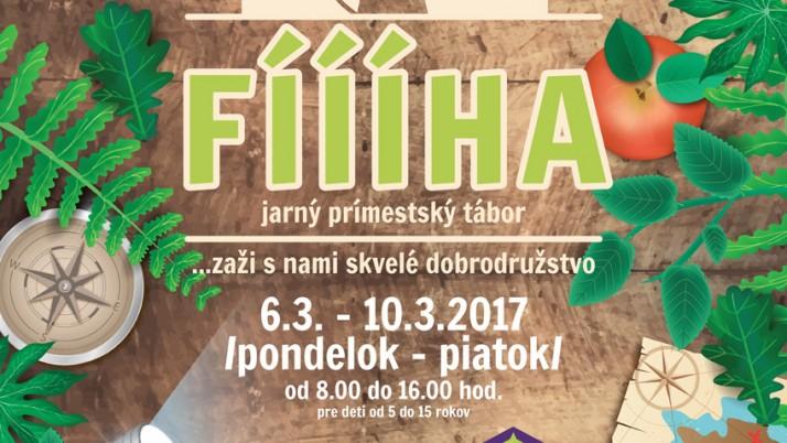 Jarný prímestský tábor – PRIHLÁŠKA – NOVÉ!!!