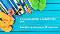 Slávnostné ukončenie školského roka 2017/2018