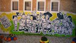 """Nová ROZPRÁVKOVÁ """"grafity"""" STENA"""
