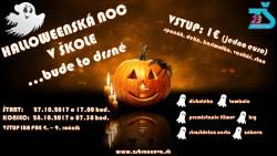 Halloweenská noc v škole… bude to drsné! 27.10.2017