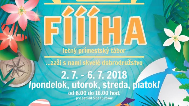 Letný prímestský tábor Fíííha 2018