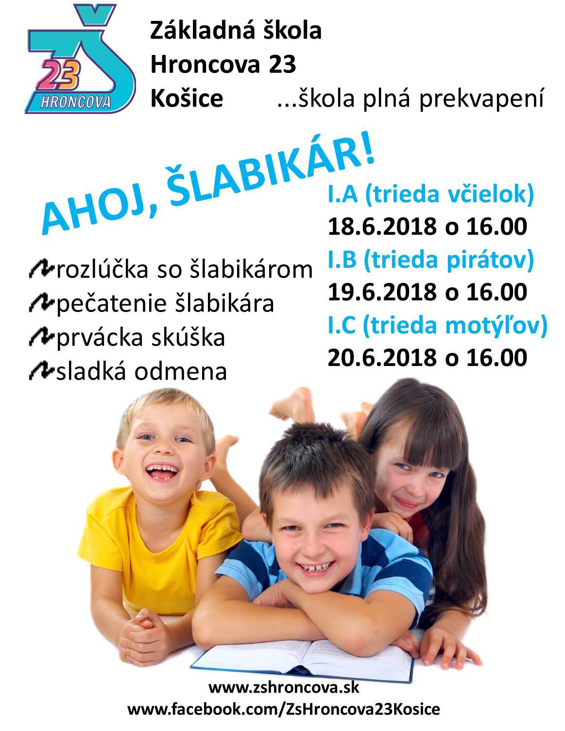 Ahoj, Šlabikár 2018