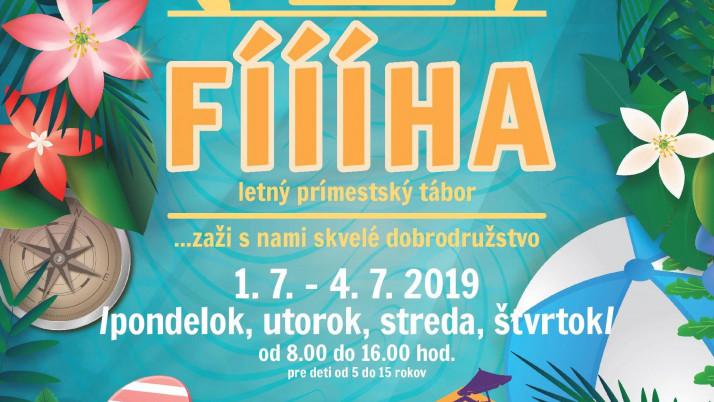 Letný prímestský tábor – Fíííha 2019