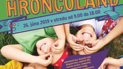 Hroncoland bude 26.6.2019