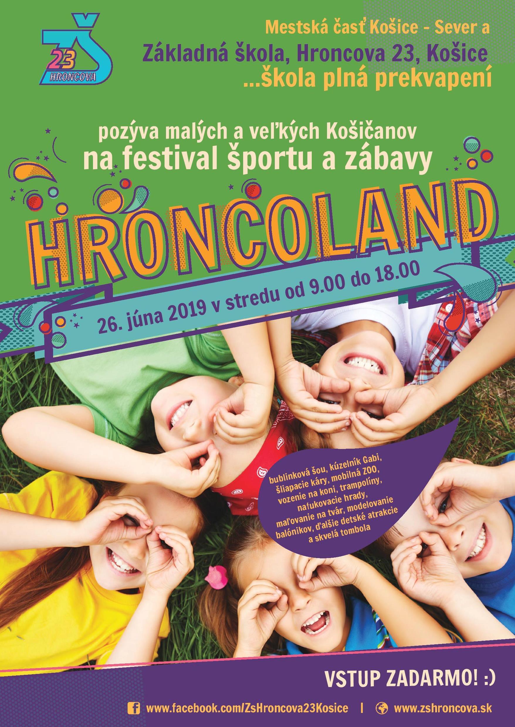 Hroncoland 2019