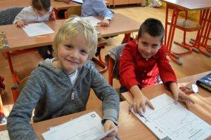 Naše prvé hodnotenie - polročné výpisy klasifikácie