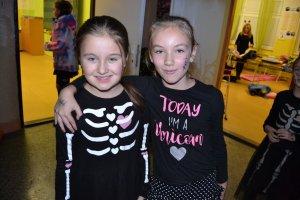 Halloweenská noc v škole 2018