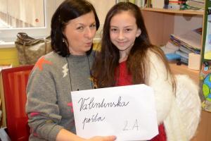 Amorko v škole - valentínska pošta