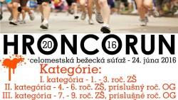 HroncoRun – propozície