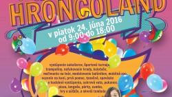 Pozvánka – HroncoLand …festival športu a zábavy