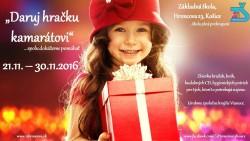 Daruj hračku kamarátovi – 21.11. – 30.11.
