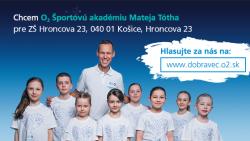 Športová akadémia Mateja Tótha – SÚŤAŽ – ďakujeme za vaše hlasy!