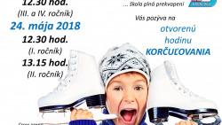 Otvorené hodiny korčuľovania – POZVÁNKA