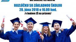 Rozlúčka so základnou školou