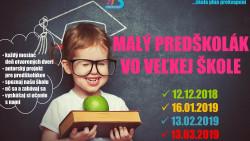 DOD – Malý predškolák vo veľkej škole – 4. stretnutie 13.3.2019 – POZVÁNKA
