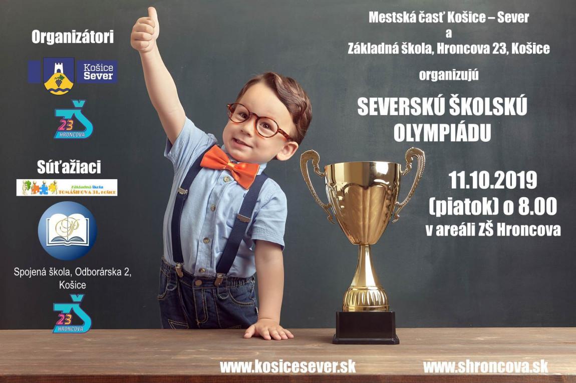 Severská školská olympiáda – propozície, pozvánka