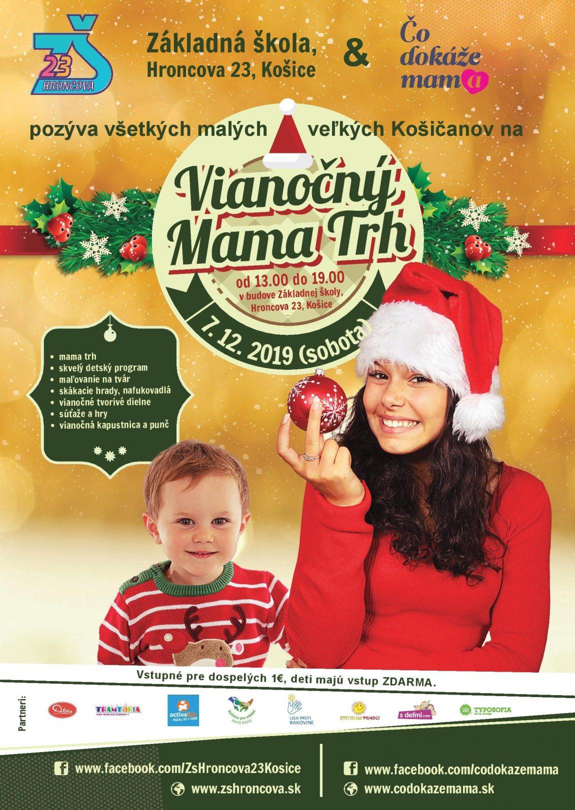 Vianočný mama trh na Hroncovej – 7.12.2019 – POZVÁNKA