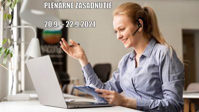 Triedne aktívy a plenárne zasadnutie ONLINE