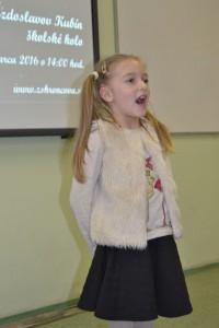 Hviezdoslavov Kubín - školské kolo recitačnej súťaže