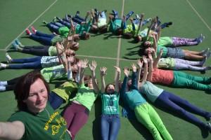 Selfie v zelenom - Deň Zeme na Hroncovej