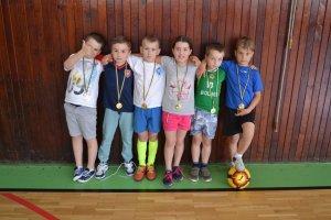 Futbalový krúžok - vyhodnotenie krúžkovej činnosti