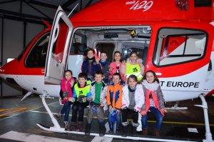 Vrtuľníková záchranná zdravotná služba - I. a II. oddelenie ŠKD
